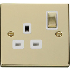 Click Polished Brass White