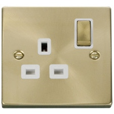 Click Satin Brass White