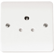 Socket Outlets Round Pin - Moulded