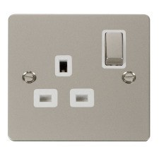 Pearl Nickel Define Sockets & Switches