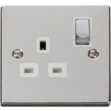 Deco Polished Chrome Switches & Sockets