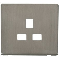 Stainless Steel Screwless Cover Plates