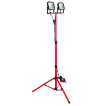 Luceco LSWT220BR4-01 20W Twin Head Tripod Work Light