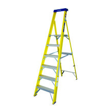 Lyte GFHP6 6 Tread Glassfibre Heavy Duty Platform Stepladder