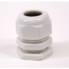 Dome Nylon Glands M25DW 25mm White Cable Gland 13-18mm Diameter