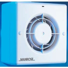 "Manrose CF100T 4"" Toilet Bathroom Quiet Extractor Fan with Timer"