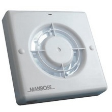 "Manrose LXF100S 100mm 4"" Energy Saving Standard Fan"