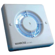 Manrose Quiet Fan Timer 100mm