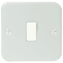 Metal Clad Light Switch 2Way MC512 1G