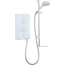 Mira Sport 7.5kw Electric Shower White / Chrome