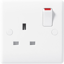 Nexus 821DP 13A 1 Gang Double Pole Switched Socket