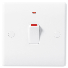 Nexus 831 20A Double Pole Switch With Neon