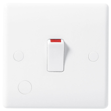 Nexus 832 20A Double Pole Switch With Flex Outlet