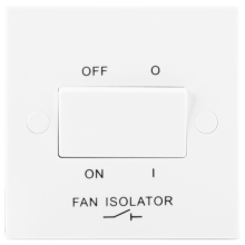 Nexus 915 10AX Triple Pole Fan Isolator Switch
