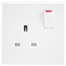 Nexus 921 13A 1 Gang Switched Socket Outlet