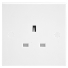 Nexus 923 13A 1 Gang Switched Socket Outlet