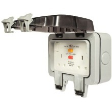 Nexus Weatherproof WP22RCD 2G Switched & RCD