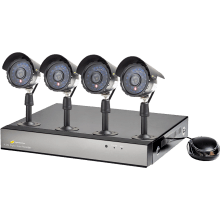 Nightwatcher 8960-1TB-C700-4B CCTV Kit 4 Camera Bullet Cameras