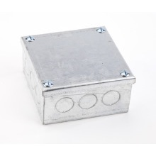 Niglon AB4x4x2GVKO 100mm x 100mm x 50mm Adaptable Galvanised Box