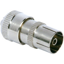 Philex 19145S Coax Socket Nickel Plated Brass