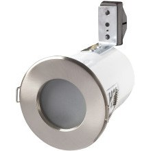 Robus Mains Voltage Downlight Bathroom RFS10165GZ-13 Brushed Steel