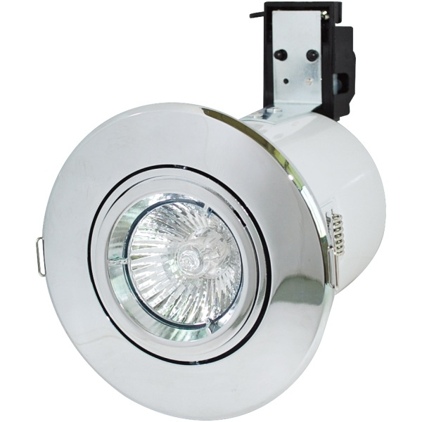 Robus mains voltage downlight rf208 03 chrome electricbase rf208 robus mains gu10 fire rated gimbal downlight robus mains voltage downlight rf208 03 chrome mozeypictures Choice Image