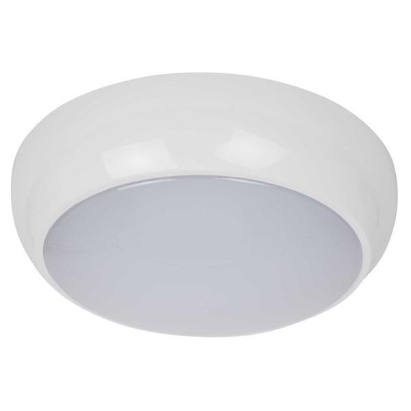 Robus R100led 01 White 10w Standard Led Ceiling Bulkhead
