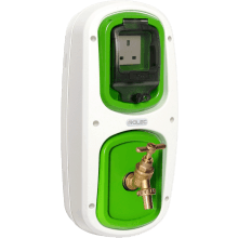 Rolec WPCO0010 HomeServ1: 13A Socket Pod - 1/2in Water Tap Pod