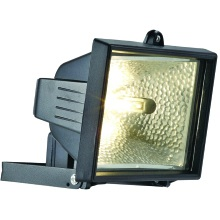 Powermaster Halogen Floodlight IP44 S5885 400W Black