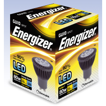 Energizer GU10 LED Lamp Dimmable S8097 WW 6.5W