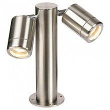 Saxby ST501228 - Odyssey Twin Post IP65 35W Halogen Exterior Light
