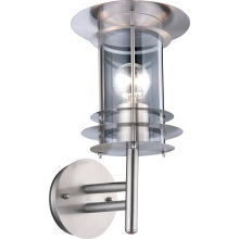 Suregraft Emma IP44 Wall Light 60w ES SS