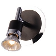 Suregraft Freya GU10 Wall light 50w Chrome & Black
