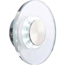 Suregraft Philppa IP44 10 LED Wall light 0.06w SS