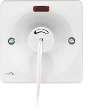 WMCS50N Hager Sollysta 50 Amp Double Pole Ceiling Switch